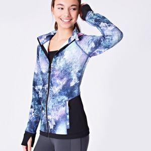 "Ivivva ""On A Moonwalk"" Hooded Jacket Size 8"